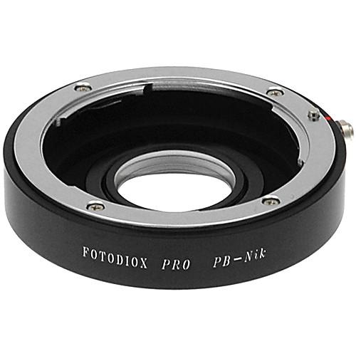 FotodioX Pro Lens Mount Adapter for Praktica B Lens to Nikon F Mount Camera