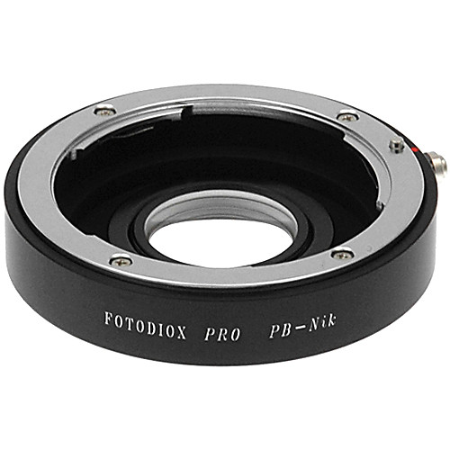 FotodioX Pro Lens Mount Adapter for Praktica B Lens to Nikon F Mount Camera