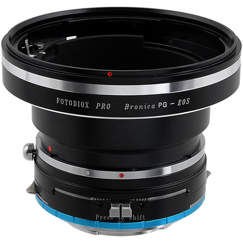 FotodioX Pro Lens Mount Shift Adapter for Bronica GS-1 PG Mount SLR Lens to Sony Alpha E-Mount (Mirrorless)