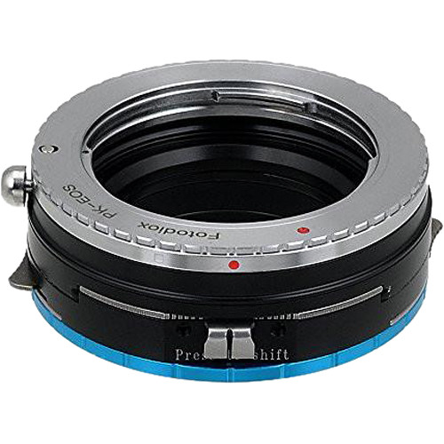 FotodioX Pro Shift Mount Adapter for Pentax K-Mount Lens to Fujifilm X-Mount Camera