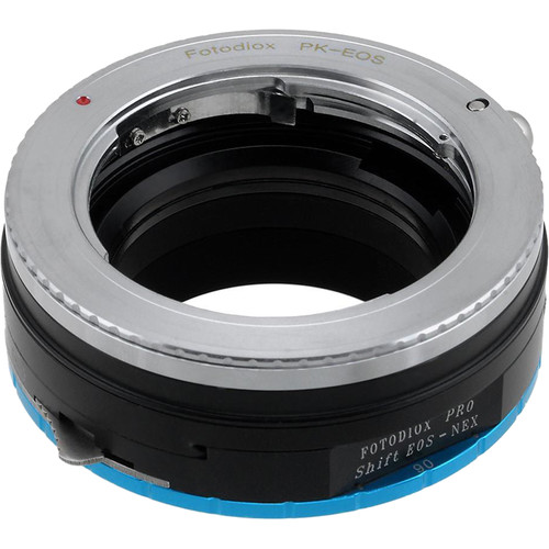 FotodioX Pro Shift Mount Adapter for Pentax K-Mount Lens to Sony E-Mount Camera