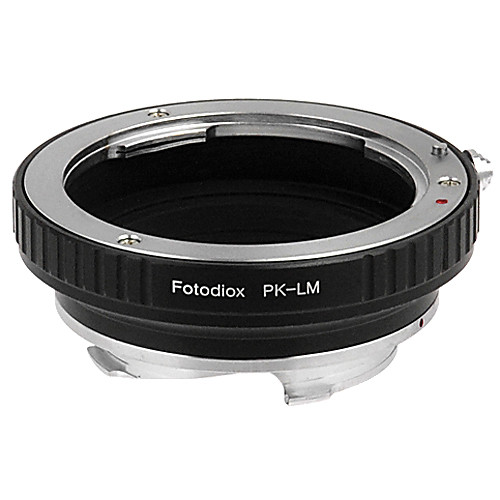 FotodioX Pentax K Pro Lens Adapter with Built-In Iris Control for Leica M-Mount Cameras