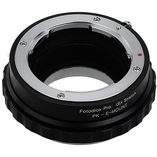 FotodioX Pentax K Lens to Sony E-Mount DLX Stretch Adapter