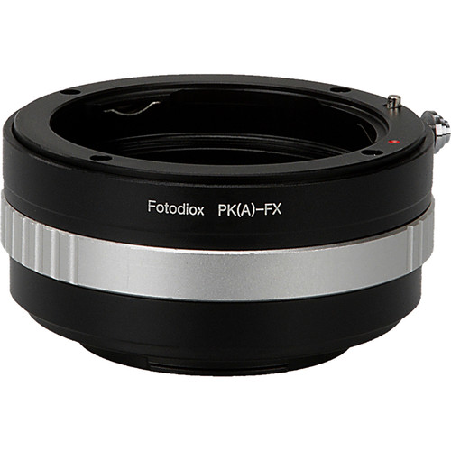 FotodioX Mount Adapter for Pentax K-Mount AF Lens to Fujifilm X Camera