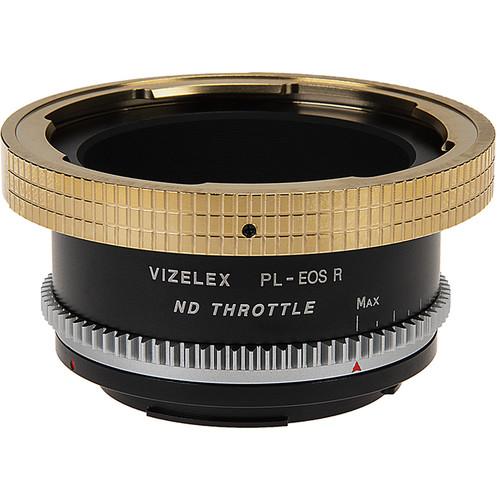 FotodioX Vizelex CinePro ND Lens Mount Adapter for ARRI PL-Mount Lens to Canon RF-Mount Camera