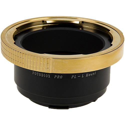 FotodioX Pro Lens Mount Adapter for Arri PL (Positive Lock) Mount Lenses to Leica L-Mount (T-Mount) Camera