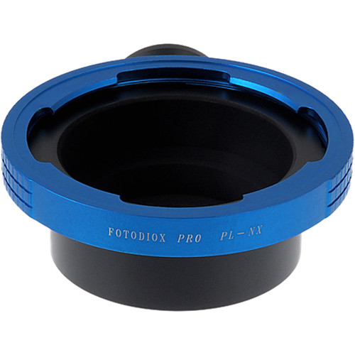 FotodioX Pro Mount Adapter for ARRI PL-Mount Lens to Samsung NX-Mount Camera