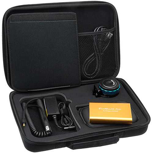 """FotodioX Pro PowerLynx Kit with 6-Pin Cable for BMPCC B4 2/3"""" 4/3 Mount Lens"""