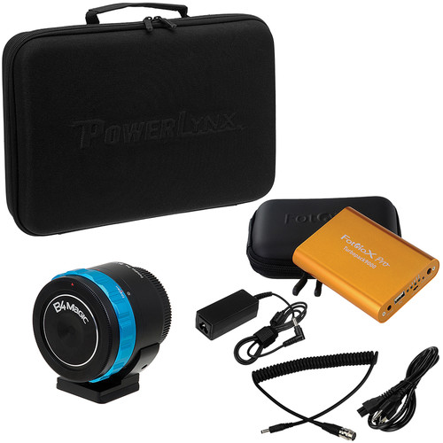 FotodioX Pro PowerLynx Kit for BMPCC with 6-Pin Hirose Type Power Cable