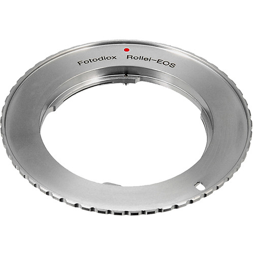 FotodioX Lens Mount Adapter Compatible with Rollei 35  SLR Lens  to Canon EF and EF-S Mounts
