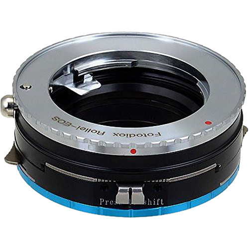 FotodioX Pro Shift Mount Adapter for Rollei 35 Lens to Fujifilm X-Mount Camera