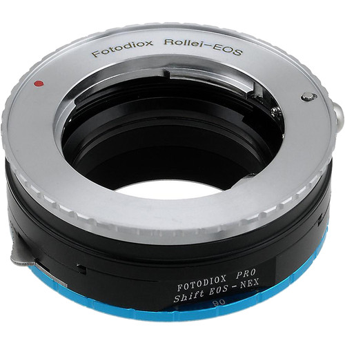 FotodioX Pro Shift Mount Adapter for Rollei 35 Lens to Sony E-Mount Camera