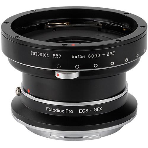 FotodioX Pro Lens Mount Adapter Kit for Rolleiflex 6000-Series Mount Lens to Fujifilm G-Mount Camera