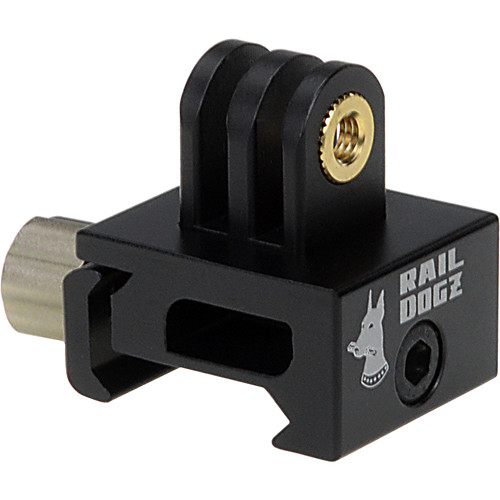 FotodioX 3-Prong Picatinny Gun Rail Mount for GoPro Camera