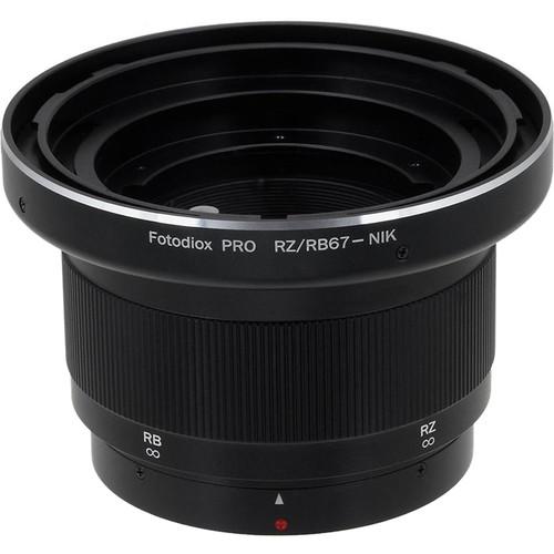 FotodioX Pro Lens Mount Adapter for Mamiya RB67/RZ67 Mount Lens to Nikon F Mount SLR Camera Body