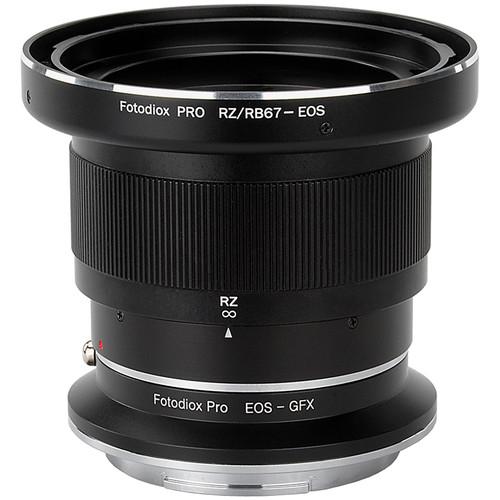 FotodioX Pro Lens Mount Adapter Kit for Mamiya RB67 or RZ67-Series Lens to Fujifilm G-Mount Camera