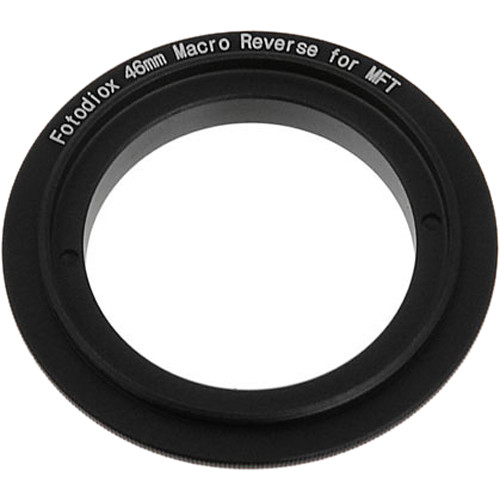 FotodioX 46mm Reverse Mount Macro Adapter Ring for Micro Four Thirds-Mount Cameras