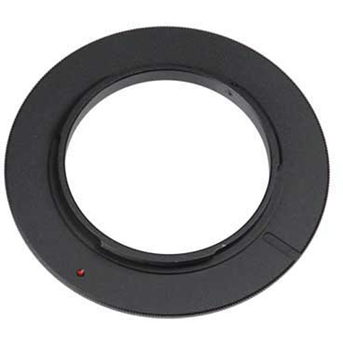 FotodioX 58mm Reverse Mount Macro Adapter Ring for Nikon F-Mount Cameras