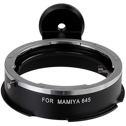 FotodioX Mamya 645 Lens Adapter for Vizelex RhinoCam Lens