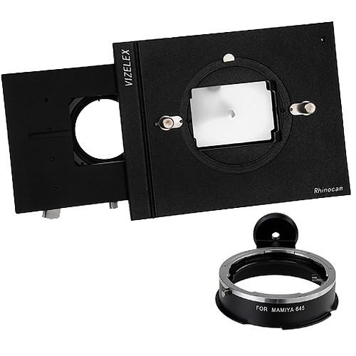 FotodioX Vizelex RhinoCam System with Mamiya 645 Lens Mount for Sony NEX E-Mount Cameras