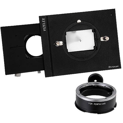 FotodioX Vizelex RhinoCam System with Pentax 645 Lens Mount for Sony NEX E-Mount Cameras