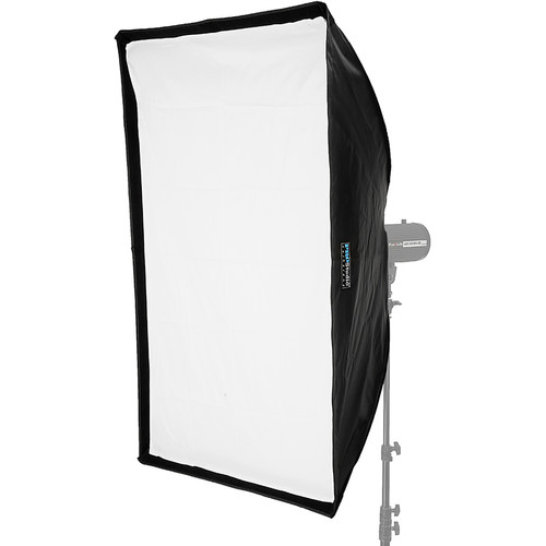 """FotodioX EZ-Pro Rectangle Softbox with Balcar, Alien Bees, Einstein, White Lightning, and Flashpoint I Speed Ring (32 x 48"""")"""