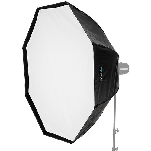"""FotodioX EZ-Pro Octagon Softbox with Balcar, Alien Bees, Einstein, White Lightning, and Flashpoint I Speed Ring (48"""")"""