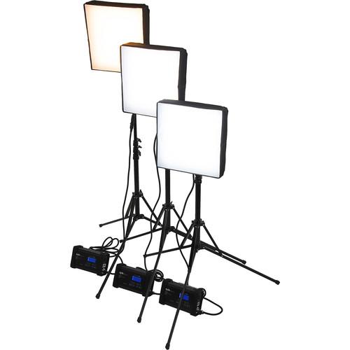 FotodioX SkyFiller SF50 Bicolor LED 3-Light Kit