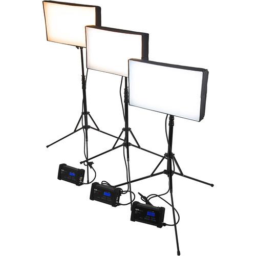 FotodioX SkyFiller SF70 Bicolor LED 3-Light Kit