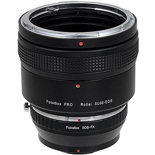 FotodioX Pro Lens Mount Adapter for Rolleiflex SL66 Series Lens to Fujifilm Fuji X-Series (Mirrorless)