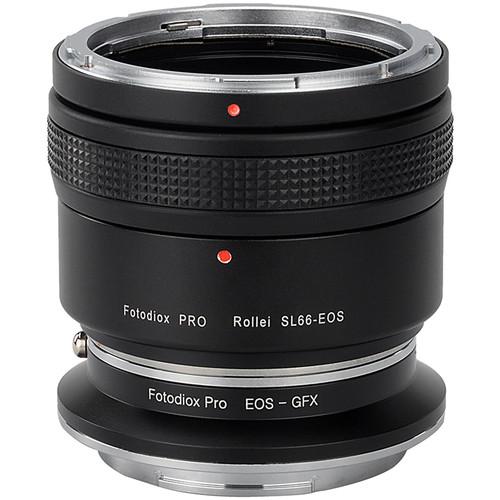 FotodioX Pro Lens Mount Adapter Kit for Rolleiflex SL66-Series Mount Lens to Fujifilm G-Mount Camera