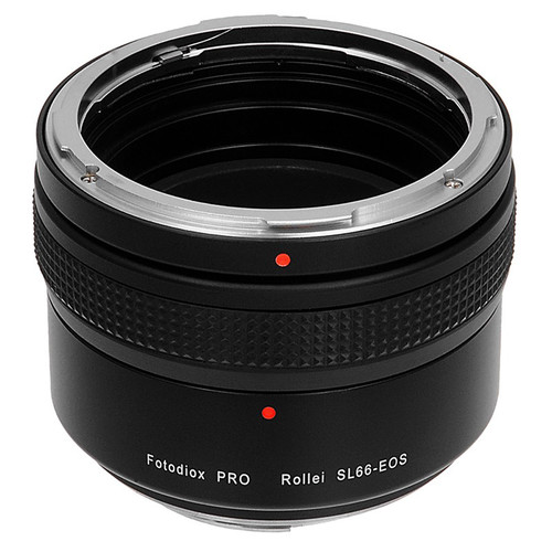 FotodioX Pro Lens Mount Adapter for Rolleiflex SL66-Series Mount Lens to Canon EF or EF-S Mount Camera