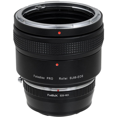 FotodioX Pro Lens Mount Adapter for Rolleiflex SL66 Series Lens to Sony Alpha E-Mount (Mirrorless)