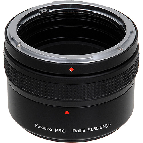FotodioX Lens Adapter for Rollei Sl66 to Sony Alpha Mount Camera