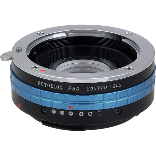 FotodioX Pro Lens Adapter for Sony Alpha A-Mount Lens to Canon EOS (EF, EF-S) Camera