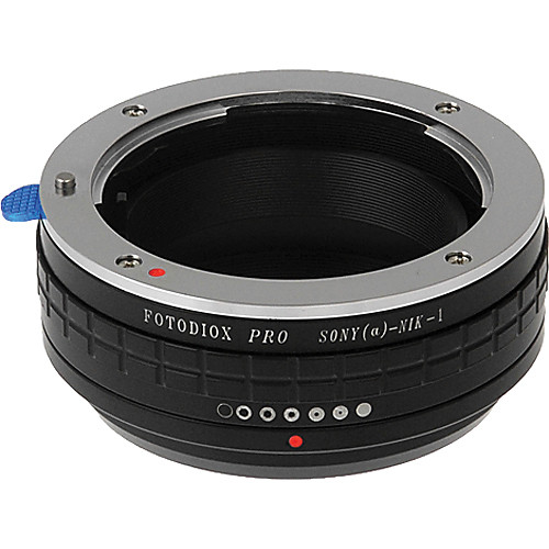 FotodioX Sony A Pro Lens Adapter with Aperture Control for Nikon 1 Cameras