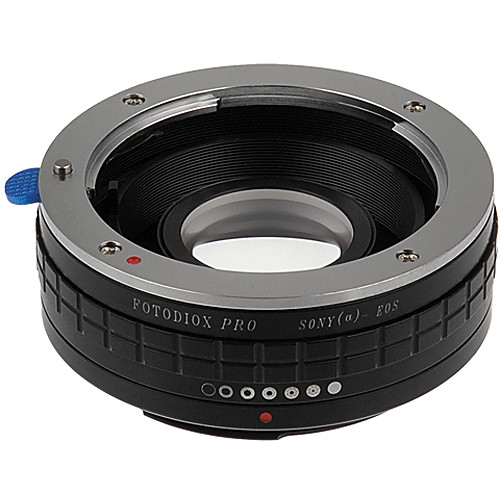 FotodioX Pro Lens Mount Adapter for Sony A Lens to Canon EF Mount Camera with Dandelion Focus Confirmation Chip