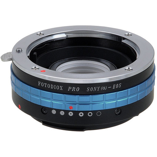 FotodioX Pro Lens Mount Adapter for Sony A Lens to Canon EF-Mount Camera