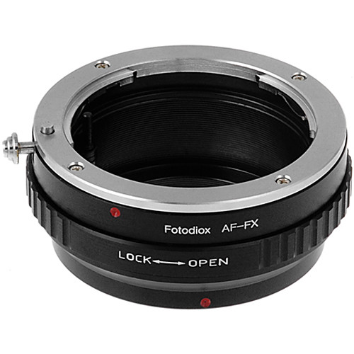 FotodioX Mount Adapter with Aperture Control Dial for Sony A-Mount Lens to Fujifilm X-Mount Camera
