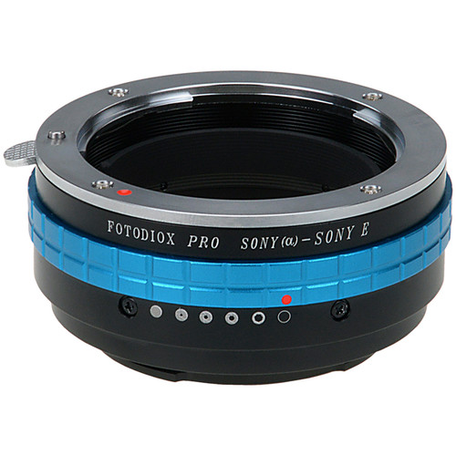 FotodioX Pro Mount Adapter for Sony A-Mount Lens to Sony E-Mount Camera