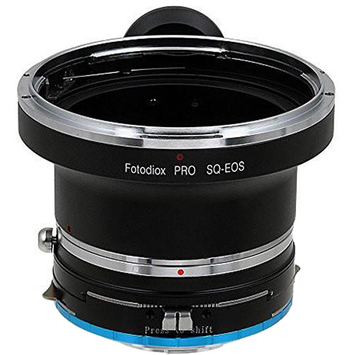 FotodioX Pro Mount Adapter for Bronica SQ-Mount Lens to Fujifilm X Mount Camera