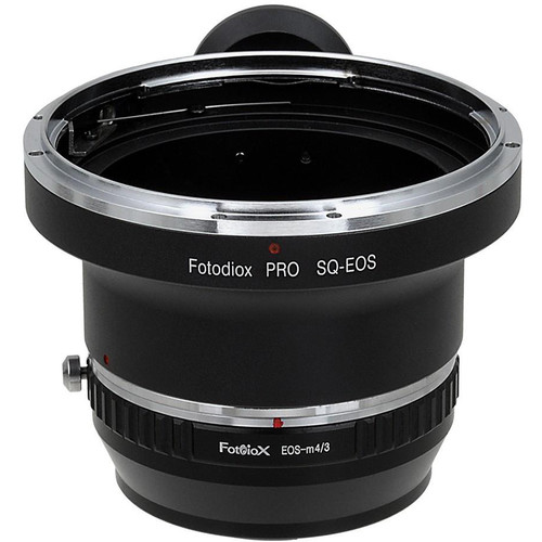 FotodioX Pro Mount Adapter for Bronica SQ-Mount Lens to Micro Four Thirds Camera