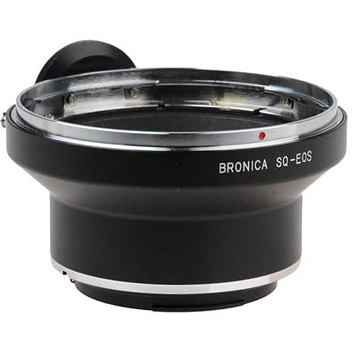 FotodioX Pro Lens Mount Adapter for Bronica SQ Lens to Canon EF-Mount Camera