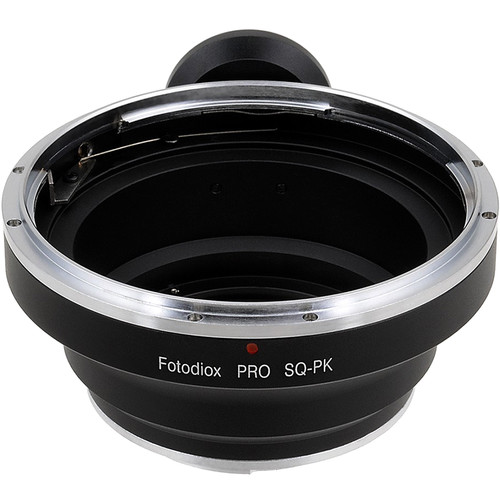 FotodioX Pro Lens Mount Adapter for Bronica SQ-Mount Lens to Pentax K-Mount Camera