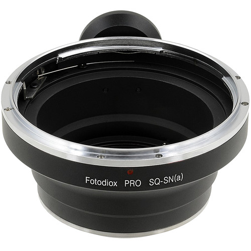 FotodioX Pro Lens Mount Adapter for Bronica SQ-Mount Lens to Sony A-Mount Camera