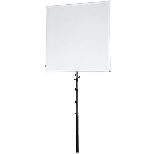 FotodioX Pro Studio Solutions Sun Scrim Collapsible Frame Reflector Kit with Boom Handle and Bag (4x4')