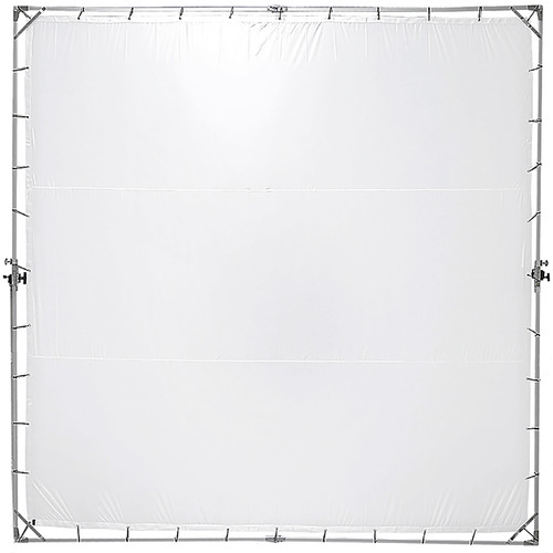 FotodioX Pro Studio Solutions Giant Sun Scrim Collapsible Frame Diffusion Kit with Bag (12x12')
