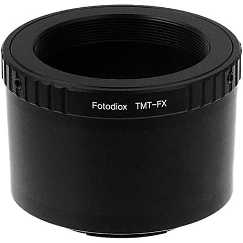 FotodioX Lens Mount Adapter for T-Mount T/T-2 Screw Mount SLR Lens to Fujifilm Fuji X-Series Mirrorless Camera Body