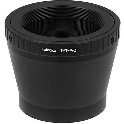 FotodioX Adapter for T-Mount Lenses to Pentax Q Mount Mirrorless Cameras