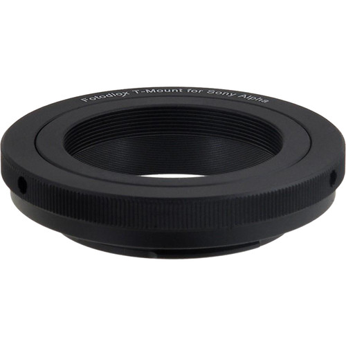 FotodioX Lens Mount Adapter for T-Mount T/T-2 Screw Mount SLR Lens to Sony Alpha A-Mount (and Minolta AF) Mount SLR Camera Body